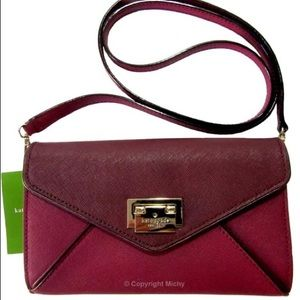Kate Spade Red Plum crossbody